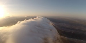 Surfing the Morning Glory Cloud - This is what we came for.
