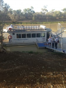 River Boat Cruise and Dinner - Longreach