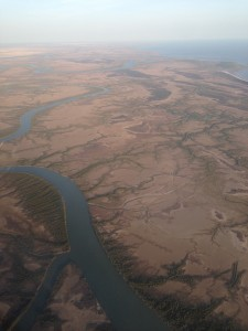Lycart River meets the Golf of Carpentaria