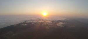 Nice Sunrise but no Morning Glory